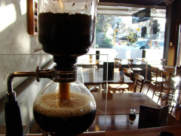 Siphon coffee - TANTO Japanese Dining Auckland