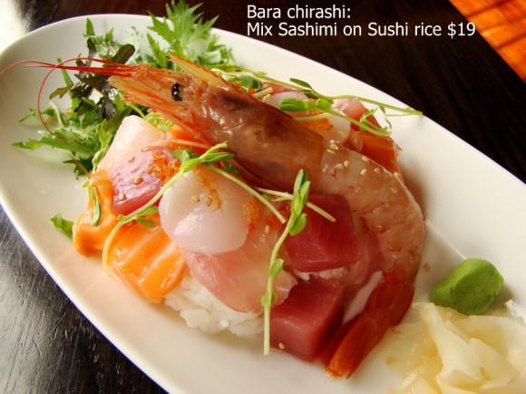 Lunch Bara Chirashi - TANTO Japanese Dining - Japanese Restaurant Auckland