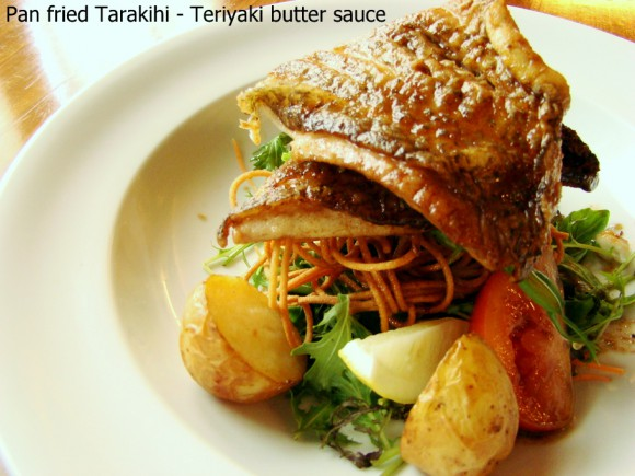 Pan fried Tarakihi -TANTO Japanese Dining Auckland