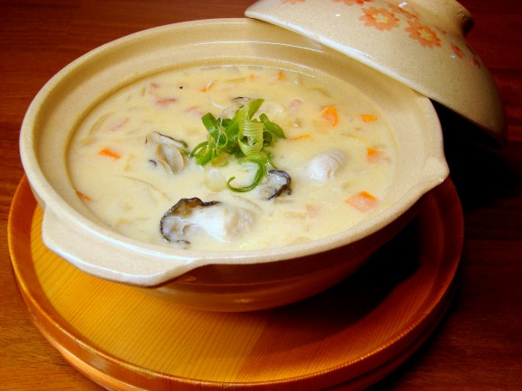 Seafood Miso Chowder