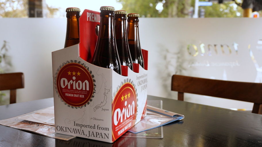 Orion Beer from Okinawa, Japan