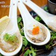 Today's special We've got nice fresh Bluff oysters! Please try them with Japanese PONZU citrus sauce.