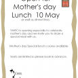 TANTO is opening especially to celebrate mother's day and we invite you to share a special meal with us. Free dessert for your mum!