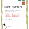 Easter Holiday 2018 TANTO Japanese Dining will be closed during the Easter Holidays: Good Friday (March, Friday 30th) Easter Saturday (March, Saturday 31st) Easter Sunday (April, Sunday 1st) Easter Monday […]