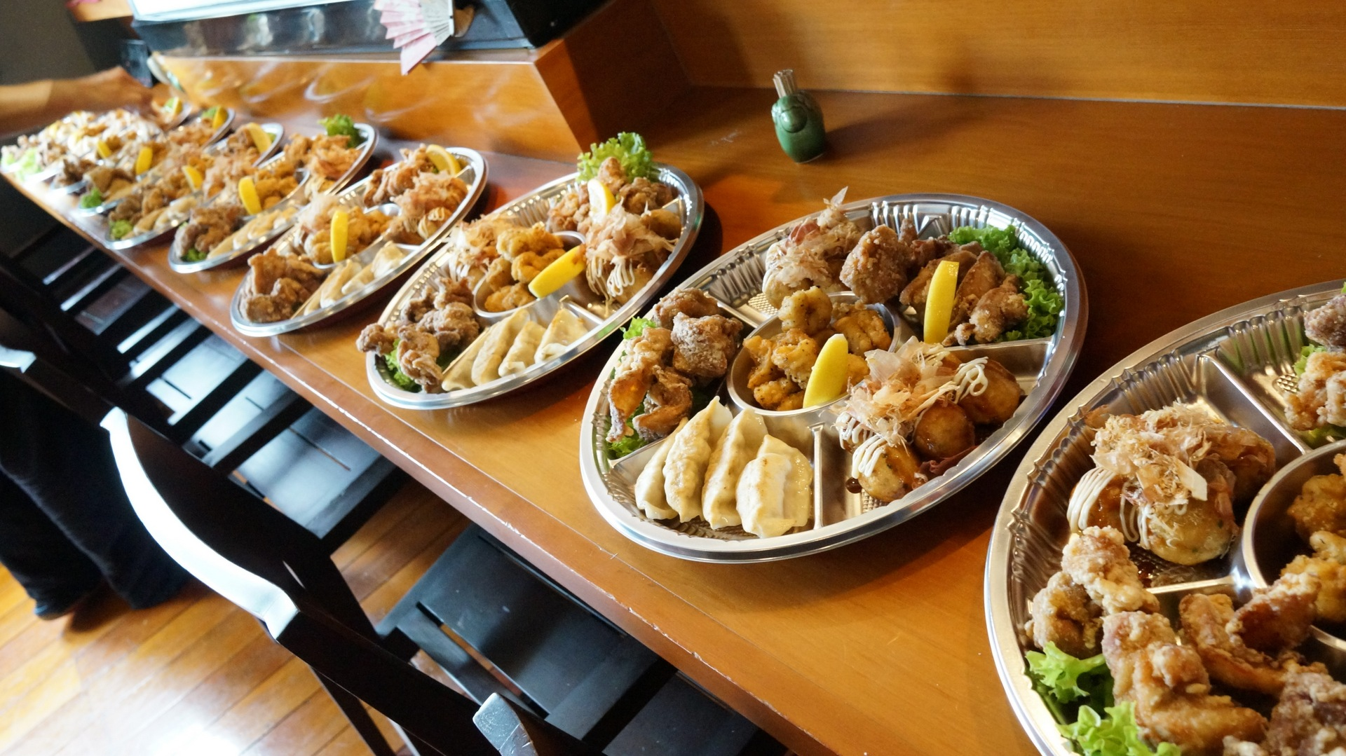 Catering order available