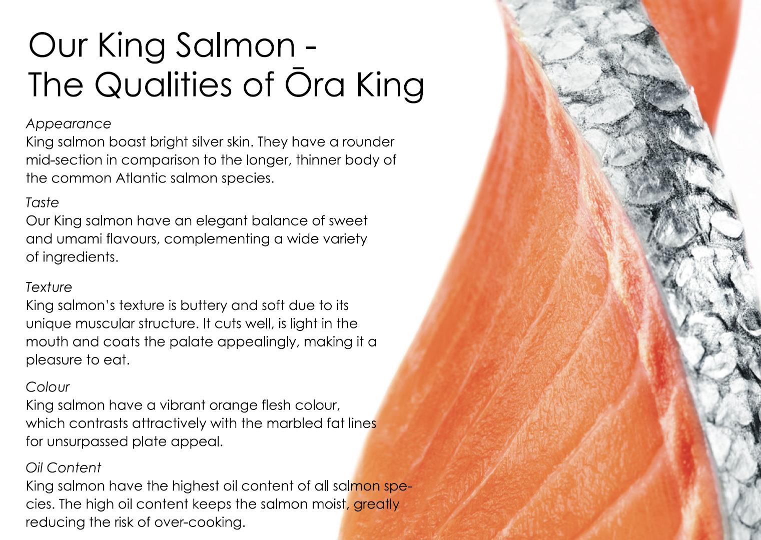 Our King Salmon – Ōra King